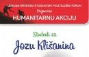 Humanitarna akcija Studenti za Jozu Klišanina