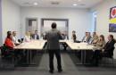 Interakcija sudionika i mnoštvo primjera iz prakse na seminaru Rukovoditeljske vještine