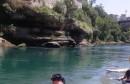 Mostar: Davor zaronio u Neretvu ispod Staroga Mosta, i ispod površine vode izmjerio razinu šećera u krvi
