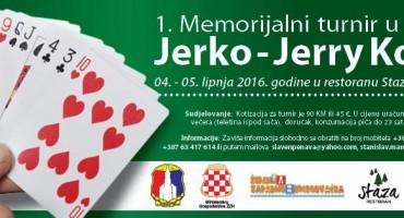 Blidinje domaćin 1. Memorijalnom turniru u bridžu Jerko – Jerry Kovač