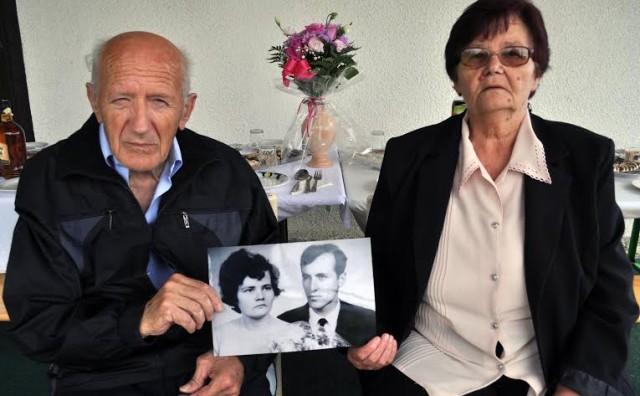 Mostar: U krugu najbližih Jakov i Dragica Smiljanić proslavili zlatni pir