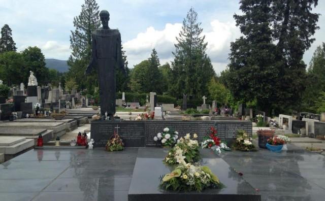 Otkriven grob fra  Ante Majića