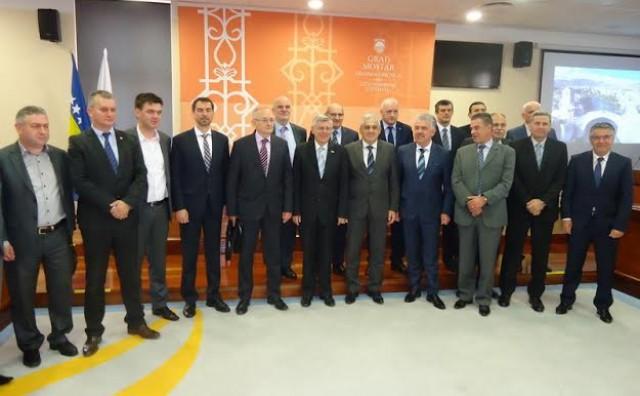 Mostar: Željko Reiner sastao se s predstavnicima Hrvatskog narodnog sabora