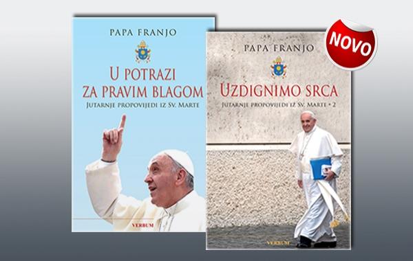 """Predstavljen novi svezak jutarnjih propovijedi pape Franje """"Uzdignimo srca"""""""
