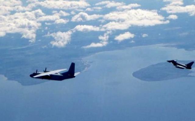 Britanski lovci presreli ruske zrakoplove iznad Baltika