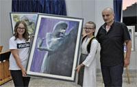 Čerin: Na humanitarnoj aukciji prodano dvanaest umjetničkih slika