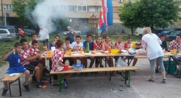 Mostar: Najmlađi navijači Hrvatske stvorili svoju Fan zonu