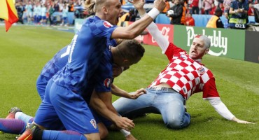 Misteriozni navijač Hrvatske koji je ušao u teren nakon Modrićevog gola ljubuški je zet