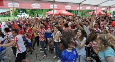 Mostar: Cijeli grad velika Fan zona navijača Hrvatske