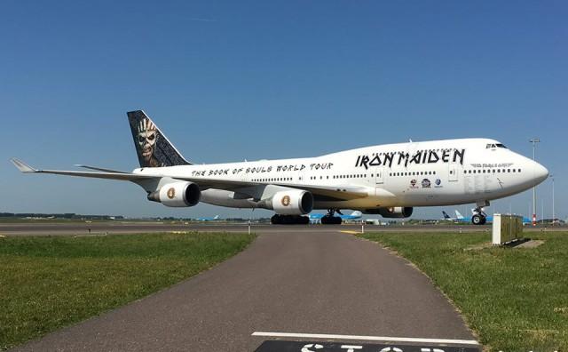 Grupa Iron Maiden sletila u Amsterdam, dolaze i u Split