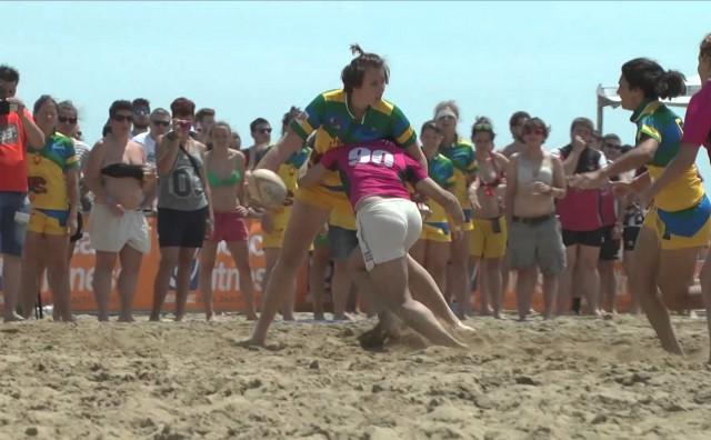 Beach rugby fest 2016