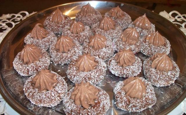 Recept za 'čokoladna gnijezda'