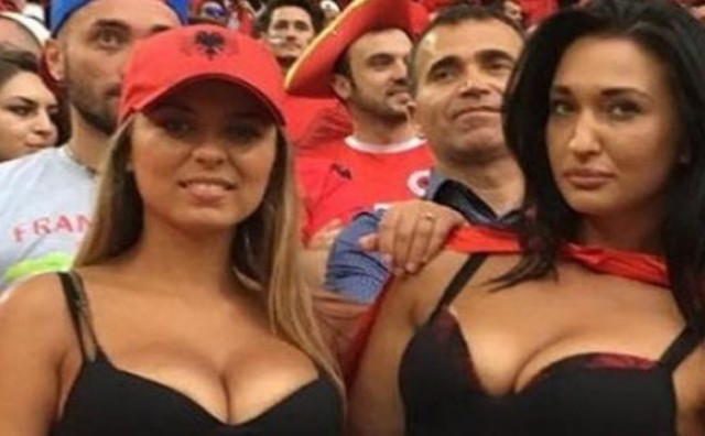 Otkriveno tko su navijačice Albanije o kojima piše svijet