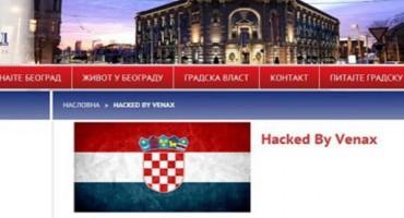 Na službenu stranicu grada Beograda postavil zastavu Hrvatske