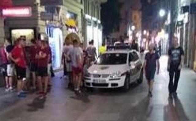 Opća tučnjava navijača Sarajeva i Željezničara