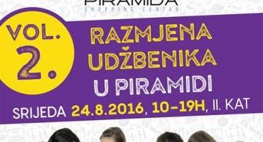 Mostar: Razmjena udžbenika u U Piramida Shopping Centru
