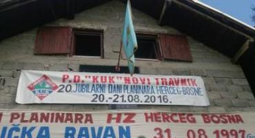 Bučićka Ravan: Održani 20. Dani planinara Herceg-Bosne
