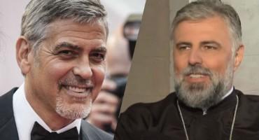 Kao blizanci: Regija luduje za hercegovačkim svećenikom koji je isti George Clooney