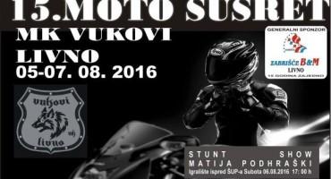 Motorijada u Livnu od 5. do 7.kolovoza