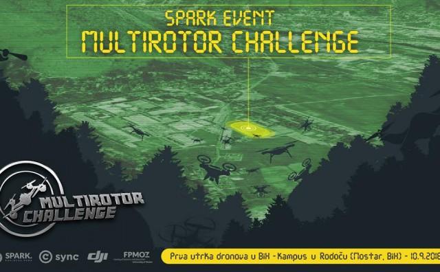 Mostar: U subotu se održava prva utrka dronova u BiH - SPARK Multirotor Challenge