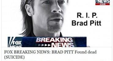 Hakerski virus: vijest o smrti Brad Pitta