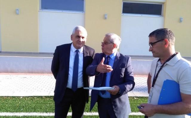 Ljubo Bešlić  i Hasan Šišić sa suradnicima obišli Sportski centar Kantarevac