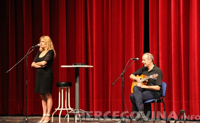 Arijana Čulina do suza nasmijala mostarsku publiku