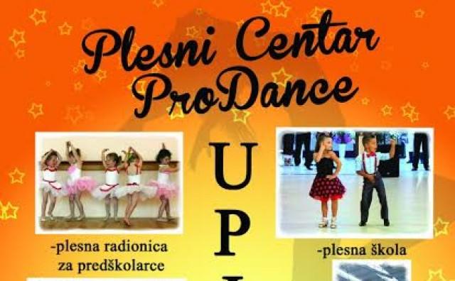 Plesni Centar ProDance kreće sa upisima u plesnoj sezoni 2016/2017. godine!!!