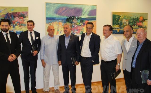 Mostar: U Galeriji Aluminij otvorena izložba slika Tihomira Lončara