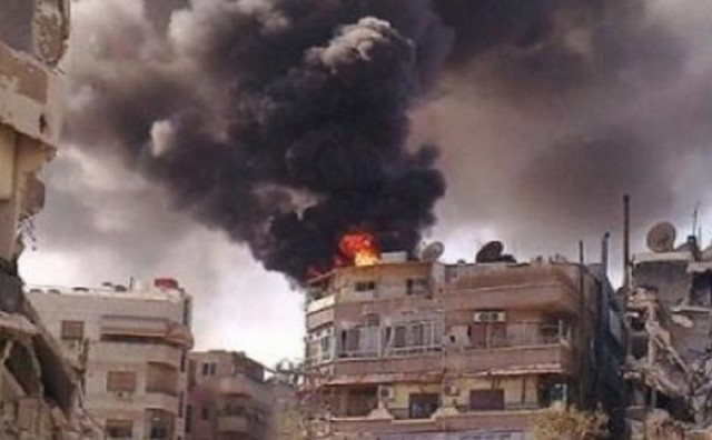 Bitka za Aleppo eskalirala