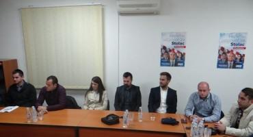Održana proširena sjednica ŽO Mladeži HDZ-a BiH HNŽ s Predsjedništvom Mladeži HDZ-a BiH u Stocu