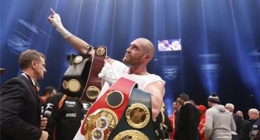 Tyson Fury ostao bez svih svojih titula boksačkog prvaka svijeta