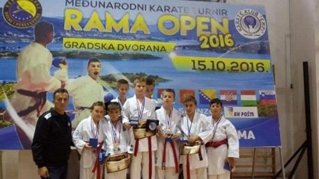 Karate klub Blagaj sudjelovao na turniru u Rami