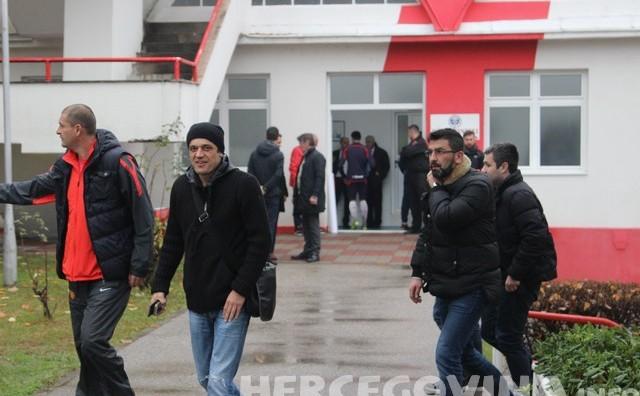 HŠK Zrinjski: Goran Vlaović i Boris Živković na utakmici protiv Željezničara
