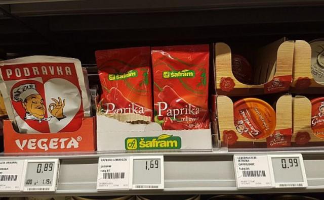 Pogledajte koliko koštaju hrvatski proizvodi u njemačkom supermarketu