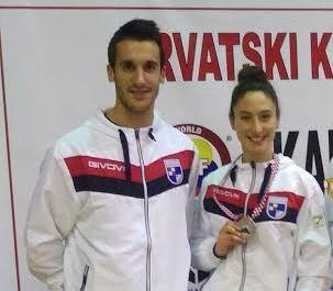 Karate Klub Široki Brijeg - Petra Zeljko osvojila srebreno odličje na Prvenstvu Hrvatske