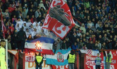 Hrvatski državljani zapalili hrvatsku zastavu na utakmici u Srbiji