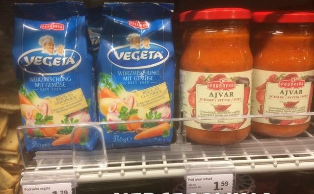 Pogledajte koliko koštaju hrvatski proizvodi u nizozemskom supermarketu