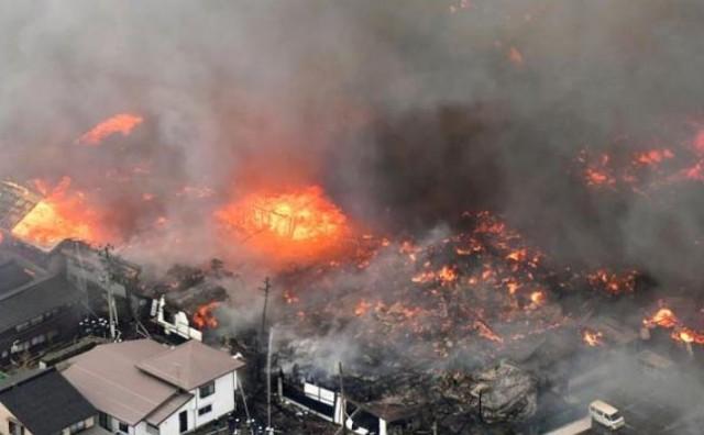 Požar u restoranu se proširio na 140 zgrada