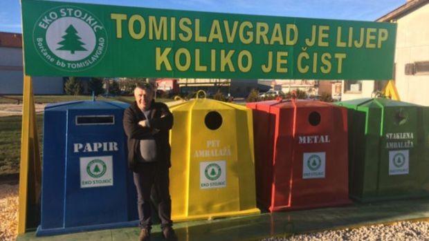 Postavljeni prvi reciklažni kontejneri u Tomislavgrad