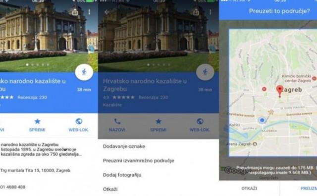 Pročitajte kako pregledavati Google karte ako nemate pristup internetu