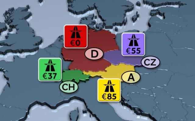 Evo koliko bi vozači vozila neregistriranih u Njemačkoj mogli plaćati vinjete