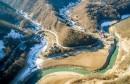 Jablaničko jezero povuklo se iz Donje Rame