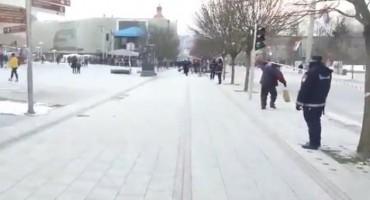Veliki broj policajaca na ulicama Banja Luke
