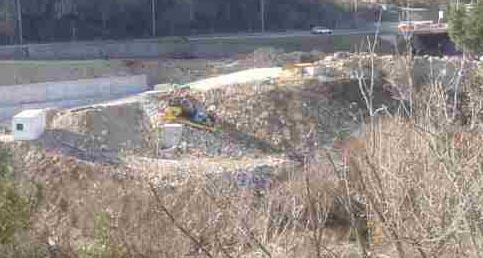 Prevrnula se dizalica na gradilištu kolektora u Mostaru