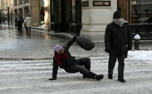 Kako sigurno hodati po ledu