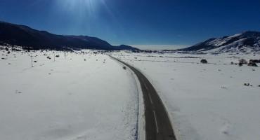 Zimska idila na skijalištu Risovac u parku prirode Bildinje