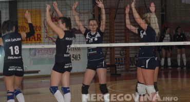 Odbojkačice SOK Mostar slavile u hercegovačkom derbiju protiv HOK Čapljine