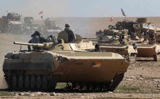 Iračka vojska pokrenula najveću ofanzivu na Mosul