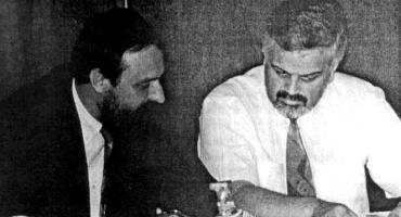 Ratni zločinac Goran Hadžić prije 20 godina osnovao s Vojislavom Stanimirovićem SDSS